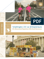 Washington, DC vs. Entrepreneurs