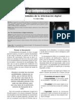 Las propiedades de la información digital