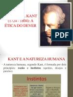 Cursinho KANT Ética - Professor Wendel