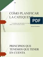 CHARLA DE CATEQUESIS