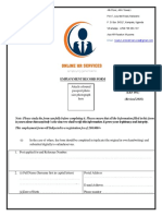 Application Form (OHRS)