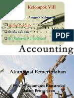 Tugas Presentasi PSAP 8 Akuntansi Pemerintahan