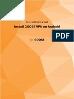 GOOSE VPN installation Android [EN]