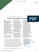 Norbert Lou de Punch Card Capital, LP