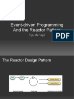 Introduction to the Reactor design pattern
