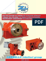 Zambello gearboxes