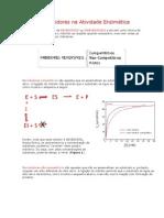 Efeito de Inibidores na Atividade Enzimática