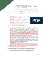 CDMU - new rules