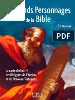 Les Grands Personnages de La Bible. Éric Denimal