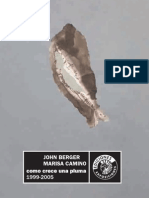 Como crece una pluma. John Berger