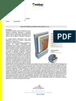 weber.therm EIFS Texturas Memoria descriptiva y APU  Exterior Insulation Finish System (EIFS).pdf