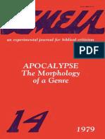 COLLINS, John J. - Apocalypse. The Morphology of a Genre..pdf