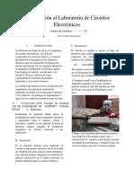 Introducción al Laboratorio de Circuitos Electrónicos (1)
