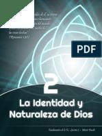 identidad y naturaleza de Dios