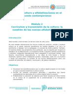 Módulo 2 - Curriculum y transmisión de la cultura