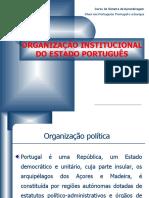 organizacao do estado portugues