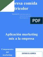 Marketing mix presentación