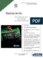 BATERIAS DE LITIO BARBILLON