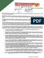 PCV exige al CNE que tome medidas contra el ventajismo electoral