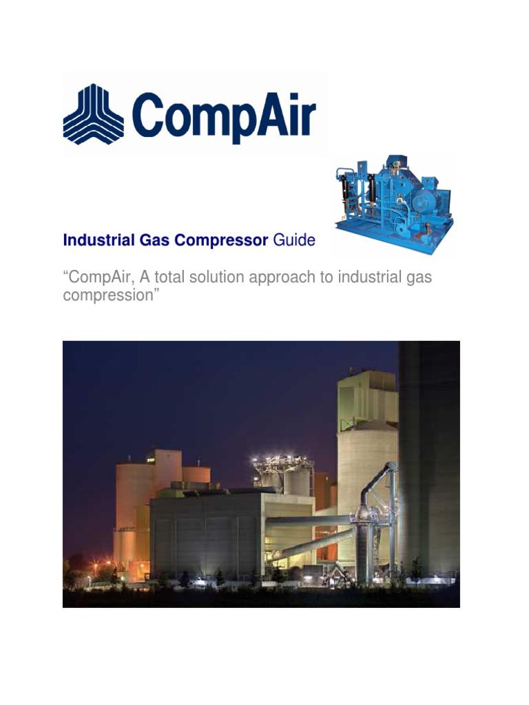 6519 25 1 08 industrial gas compressor guide natural gas helium rh scribd com CompAir Leroi CompAir Leroi