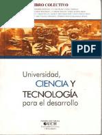 Universidad. ciencia y tecnología para el desarrollo-Raúl Rojas Soriano