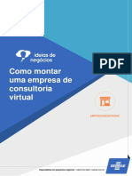 Como montar uma empresa de consultoria virtual