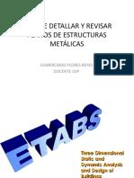 Tema 1. ARTE DE DETALLAR Y REVISAR PLANOS DE ESTRUCTURAS