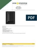 Zenitel-SPA-AC6-D-3005010096