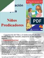 Capacitacion para Niños Predicadores