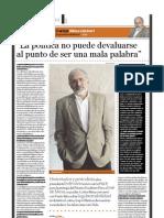 Carlos Mesa Gisbert (Ex presidente de Bolivia), PuntoEdu. 28/11/2005