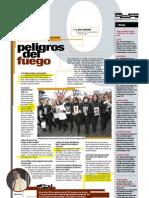 Peligros del fuego (Suplemento Q), PuntoEdu. 21/11/2005