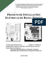 Projeto de Instalações Elétricas Prediais
