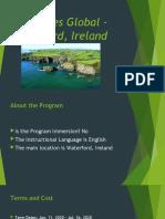 usg goes global - waterford ireland