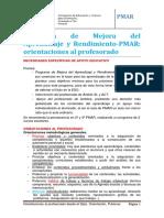 0.PMAR.orientaciones Prof.2020