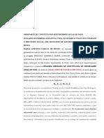 ORDINARIO DE SERVIDUMBRE LEGAL DE PASO caso yojana