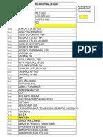LISTA DE PRODUCTOS PRODUCTOS INDUSTRIALES SAAR (1)
