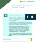 -Programa Plan de clases Poltica- cohorte 2018