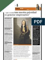 Beatrice Avolio (doctora en administración de empresas), PuntoEdu. 17/10/2005