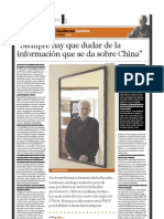 Guillermo Dañino (sinólogo), PuntoEdu. 24/10/2005