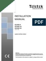 Teletek Eclipse 8 16 32 Installation Manual