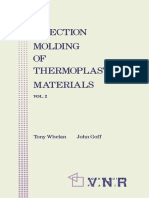 Tony Whelan, John Goff (Auth.) - Injection Molding of Thermoplastic Materials - 2-Springer US (1990)