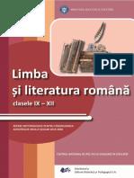 LIMBA SI LITERATURA ROMANA-repere metodologice 2020