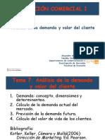 analisis demanda o producto