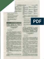 APRUEBAN ACTUALIZACIÓN DE MATRIZ DE INDICADORES DEL PLAN ESTRATÉGICO SECTORIAL MULTIANUAL Y MATRIZ DE INDICADORES DE DESEMPEÑO Y METAS DE LAS POLÍTICAS NACIONALES AL 2011 DEL SECTOR  EDUCACIÓN