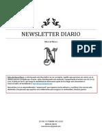 Newsletter Diario 20-10