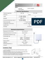 27011054-Wall Mount Antenna Datasheet(HADA-07091827-N-586-O) Datasheet.pdf