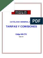 Tasas DE COMERCIO