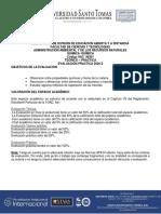 EVALAUCION PRACTICA DE  QUIMICA  PRACTICA CASERA  2020-2