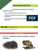 2. Características dos minerais