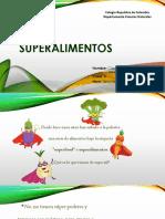 Clase 3 Super alimentos 3ero Medio PDF